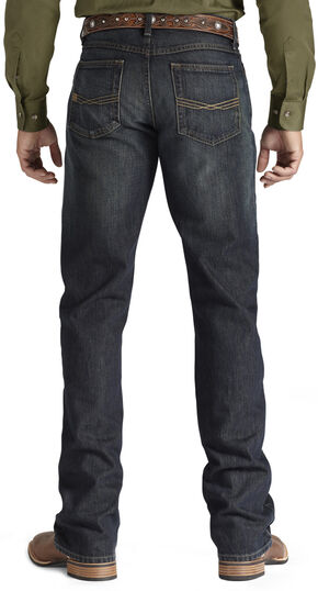 Ariat Denim Jeans - M5 Dusty Road Straight Leg, Dark Stone, hi-res