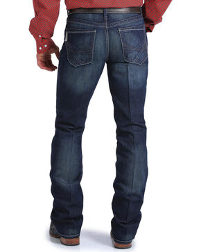 Cinch Men's Ian Dark Rinse Slim Fits Jeans - Boot Cut, Indigo, hi-res