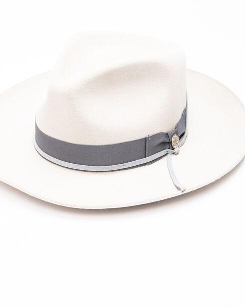 Stetson Men's Light Grey Wynwood Hat , Light Grey, hi-res