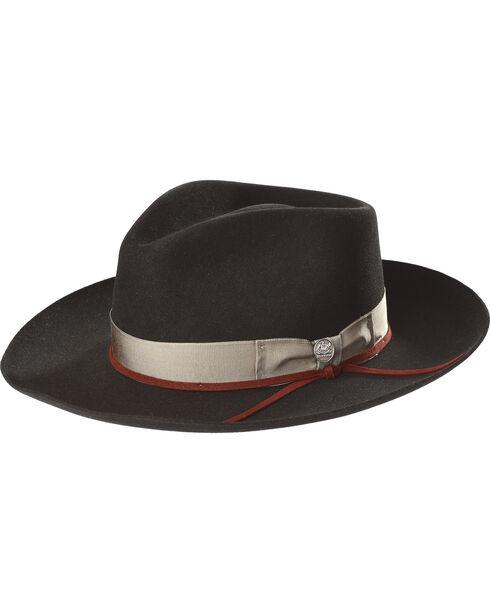 Stetson Men's Black Wynwood Hat , Black, hi-res