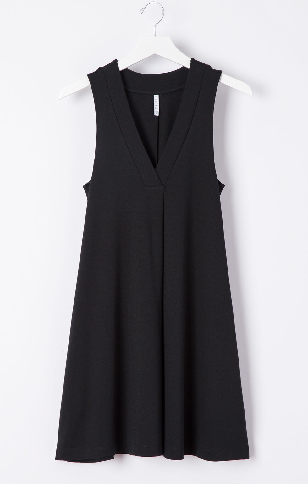 Z Supply Olivia Ponte Dress, Black, hi-res