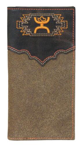 Hooey Men's Signature Brown Aztec Rodeo Wallet, Multi, hi-res
