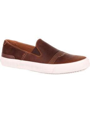Durango Men's Brown Music City Slip-On Sneakers , Brown, hi-res