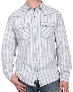 Moonshine Spirit Men's City Slicker Western Shirt, White, hi-res