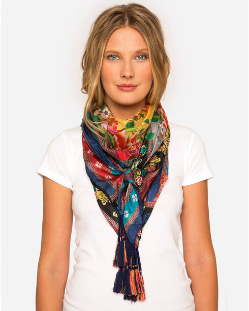 Johnny Was Women's Aura Scarf , Multi, hi-res