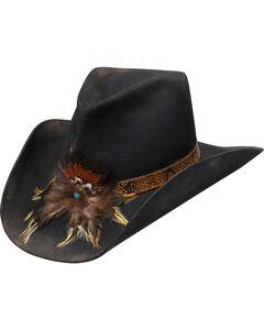 Charlie 1 Horse Black Sturgis Felt Hat , Black, hi-res