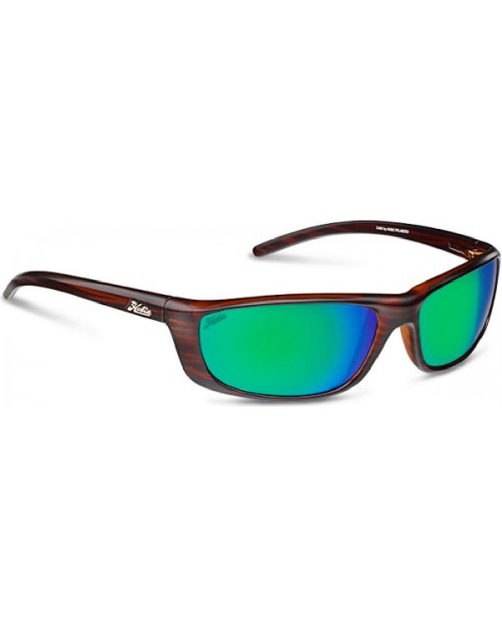 Hobie Men's Satin Brown Wood Grain Polarized Cabo Sunglasses , Brown, hi-res