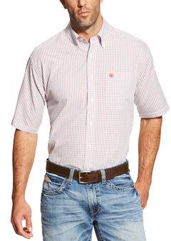 Ariat Men's Multi Ithaca Short Sleeve Shirt , , hi-res
