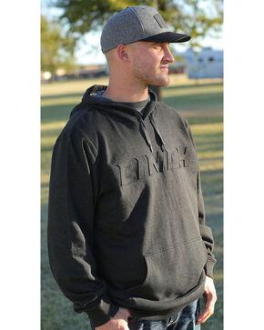 Cinch Men's Black Embossed Logo Hoodie, Black, hi-res