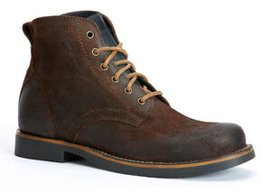 Frye Roland Lace-Up Suede Boots, Dark Brown, hi-res