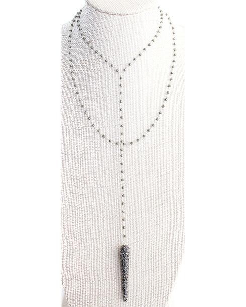 Everlasting Joy Women's Hidden in Mystery Necklace, Steel, hi-res