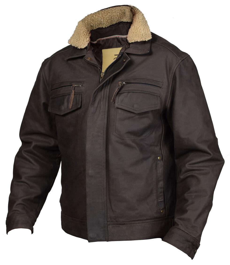 STS Ranchwear Men's Scout Jacket, Brown, hi-res
