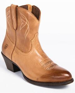 Ariat Women's Darlin Booties - Round Toe , , hi-res