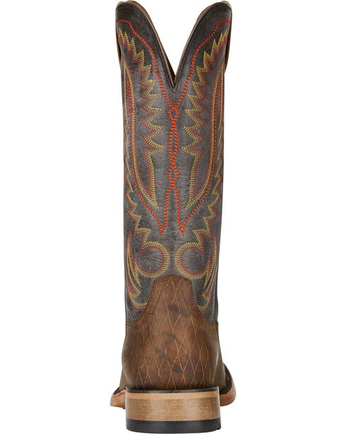 Ariat Men's Palo Duro Cowboy Boots - Square Toe, Lt Brown, hi-res