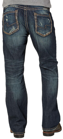Silver Men's Craig Rinse Wash Jeans - Bootcut , , hi-res