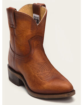 Frye Women's Billy Short Boots - Pointed Toe, Cognac, hi-res