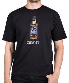 Jack Daniels Black Bottle T-Shirt, Black, hi-res
