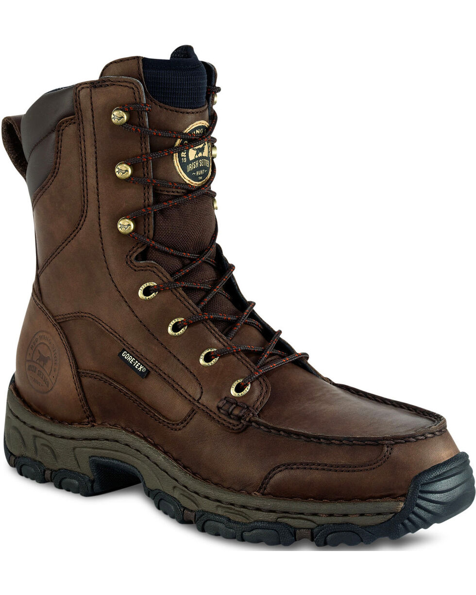 """Irish Setter by Red Wing Shoes Men's Havoc 9"""" Hunting Boots - Moc Toe, Brown, hi-res"""