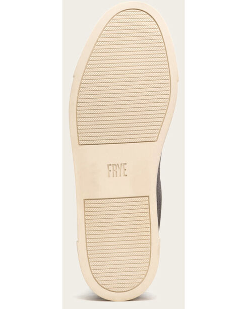 Frye Women's Metallic Ivy Low Lace Shoes - Round Toe , Silver, hi-res