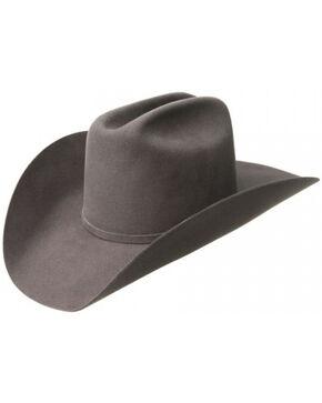 Bailey Men's Wheeler 3X Wool Felt Cowboy Hat, Grey, hi-res