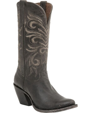 Lucchese Handcrafted 1883 Women's Laurelie Cowgirl Boots -  Round Toe, Brown, hi-res
