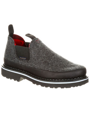 Georgia Boot Women's Pendleton Romeo Shoes - Round Toe, Slate, hi-res