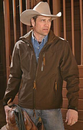 STS Ranchwear Men's Young Gun Brown Jacket - Big & Tall - 2XL-3XL, Brown, hi-res