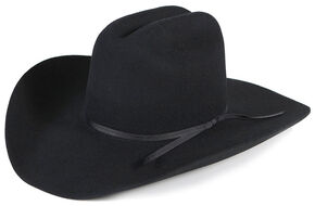 Cody James 3X Mesquite Pro Rodeo Wool Felt Cowboy Hat, Black, hi-res