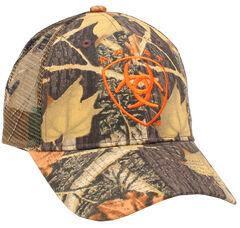 Ariat Men's Camo Mesh Logo Cap, Camouflage, hi-res
