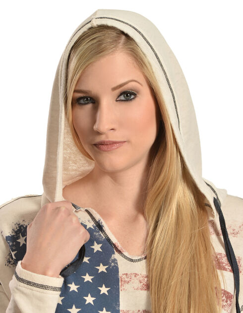Others Follow Women's Patriot Hooded Top, , hi-res