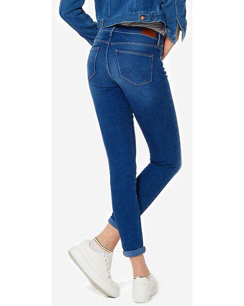 Wrangler Women's 70th Anniversary High Rise Skinny Jeans, Indigo, hi-res