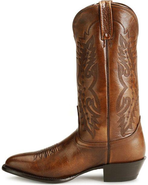 Nocona Imperial Calfskin Cowboy Boots, Tan, hi-res