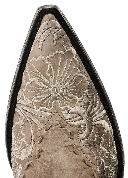Old Gringo Erin Embroidered Cowgirl Boots - Pointed Toe, Bone, hi-res