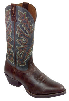 Twisted X Chocolate Brown Western Cowboy Boots - Medium Toe, , hi-res