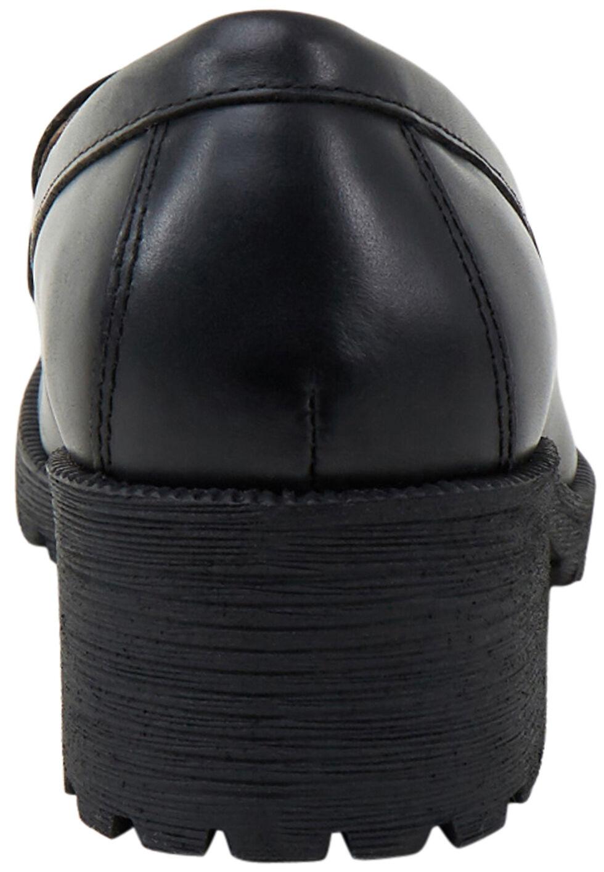 Eastland Women's Black Newbury Penny Loafers, Black, hi-res