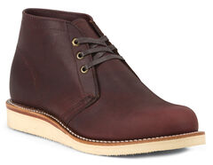 Chippewa Men's 1955 Original Modern Suburban Burgundy Boots - Round Toe, , hi-res
