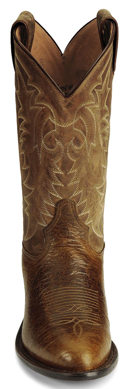 """Tony Lama 12"""" Conquistador Shoulder Boot - Medium Toe, Cognac, hi-res"""