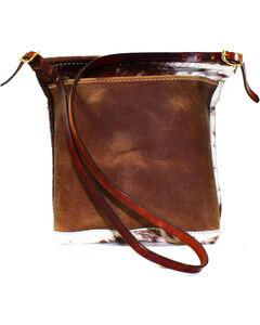 SouthLife Supply Women's Cowhide Cross Body Bag, Multi, hi-res