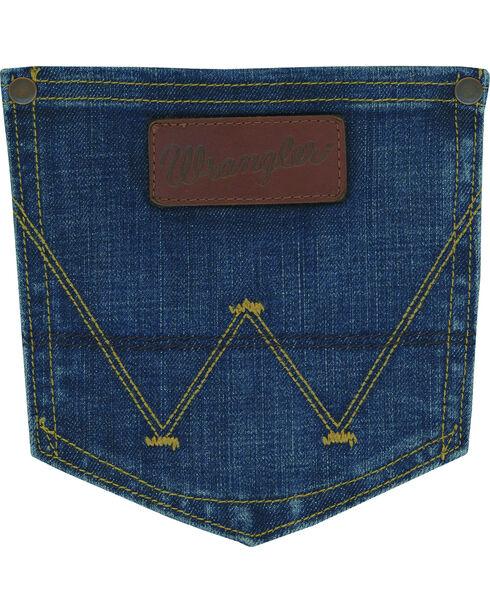 Wrangler Retro Men's Drummond Slim Fit Jeans - Straight Leg, Indigo, hi-res