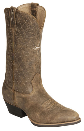 Twisted X Distressed Cowboy Boot - Medium Toe, Distressed, hi-res