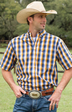Cinch Men's Multi Tri-Blend One Pocket Short Sleeve Shirt, , hi-res