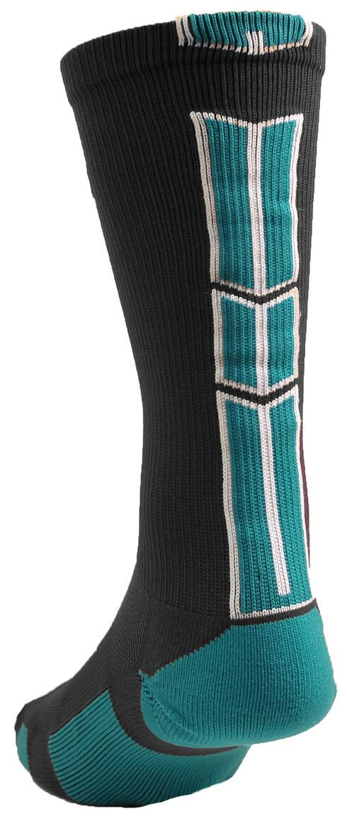 Cinch Men's Grey Crew Sock , Grey, hi-res