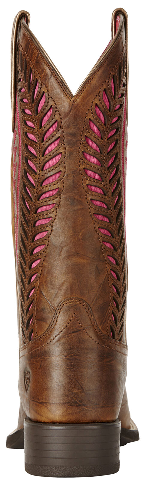 Ariat Brown Women's Quickdraw Venttek Boots - Wide Square Toe , Brown, hi-res