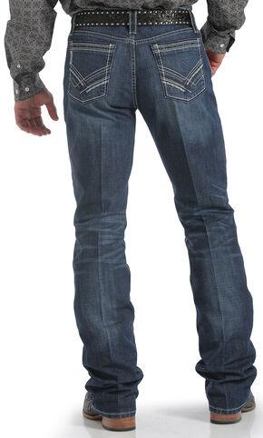 Cinch Ian Slim Fit Dark Wash Jeans - Boot Cut , Dark Stone, hi-res