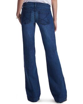 Ariat Women's Indigo Trouser Ella Jeans - Flare , Indigo, hi-res