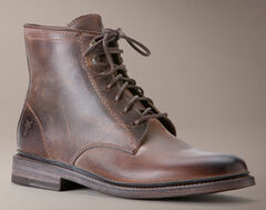 Frye Women's James Lace Up Boots - Round Toe, , hi-res