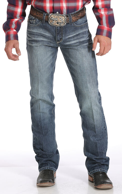 Cinch Ian Slim Fit Jeans - Boot Cut , Denim, hi-res