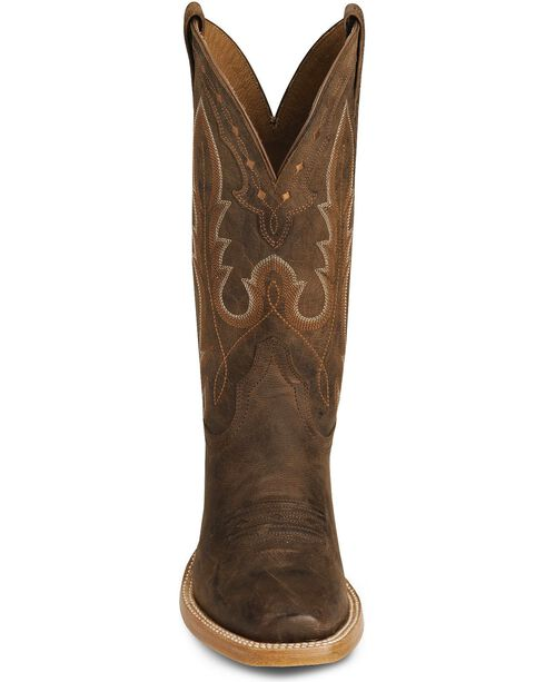 Ariat Brown Hotwire Cowboy Boot - Square Toe, Brown, hi-res