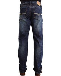 "Stetson Modern Fit ""V"" Stitched Jeans - Big & Tall, , hi-res"