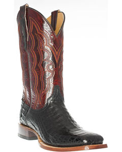 Cinch Men's Caiman Belly Western Boots - Square Toe, , hi-res
